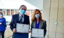 В Пловдив наградиха медици, участвали активно в имунизацията срещу COVID-19