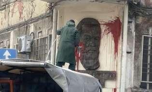БСП осъди вандалския акт срещу паметната плоча на Димитър Благоев